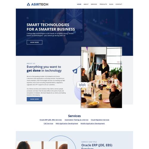 Asirtech Website