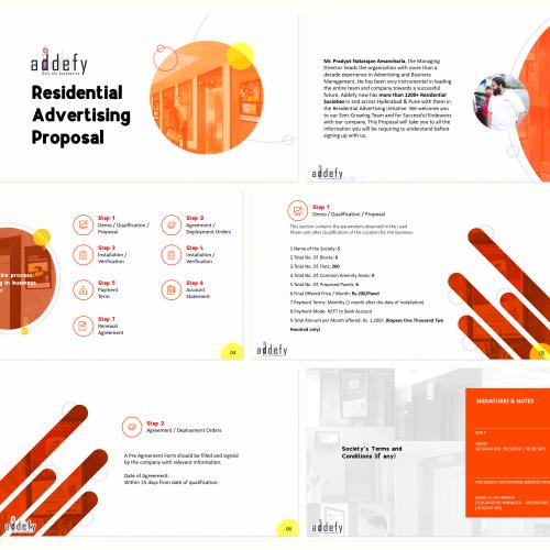 Addefy Powerpoint Design