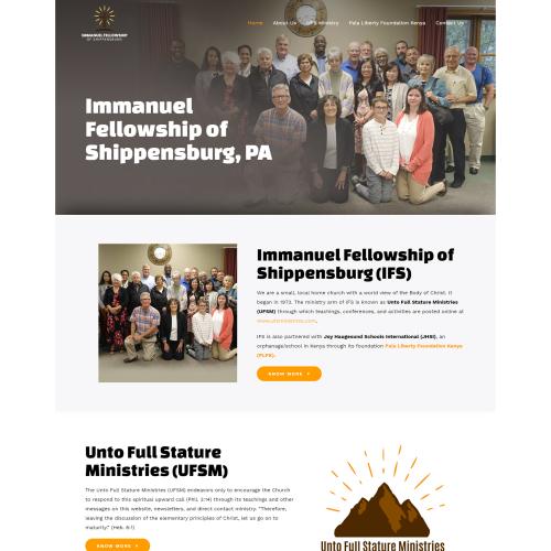 Immanuel Fellowship Website