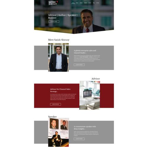 Satish Shenoy Website