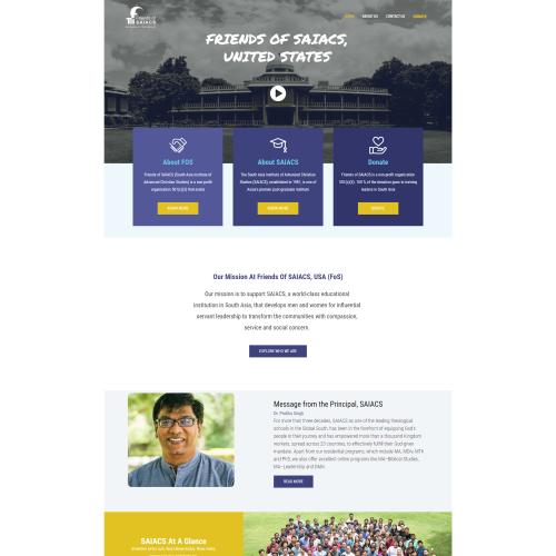 FosUs Non-Profit Website