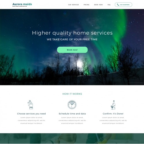 Maid Services - Home Page