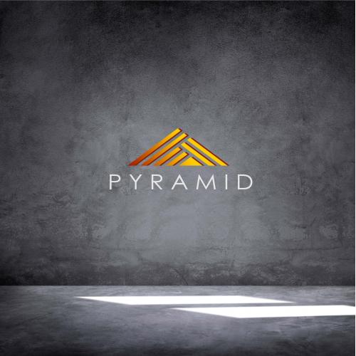 unique pyramid logo