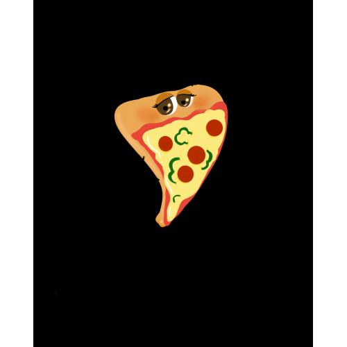 Cute pizza