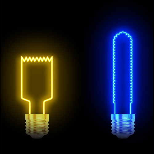 The Simpsons lamps