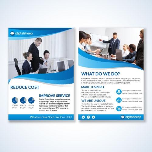 Brochure design for  IT