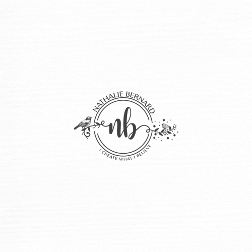 Photograph logo inspired by nature theme