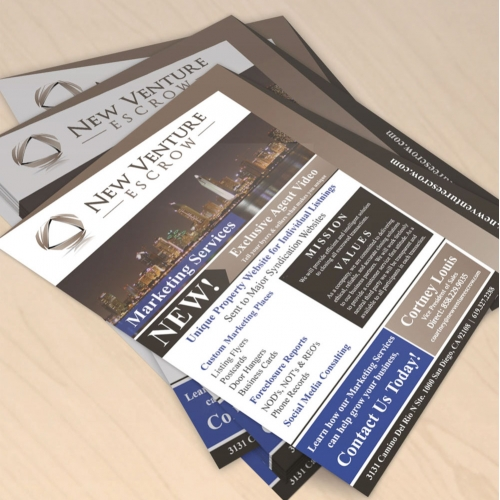 Flyer for Real Estate Company