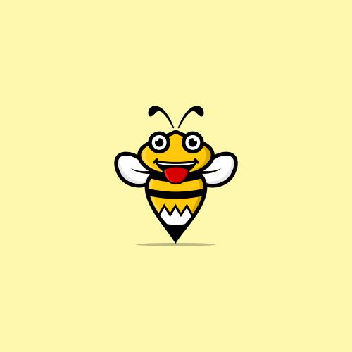 bee   pencil