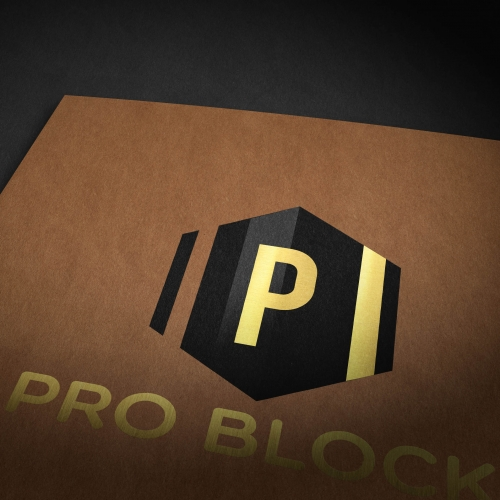 Pro Block Logo Design