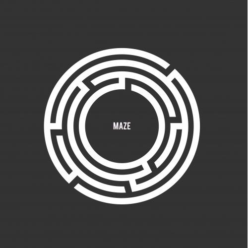Maze Logo Design