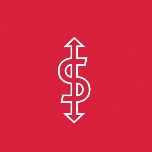 S sign logo design