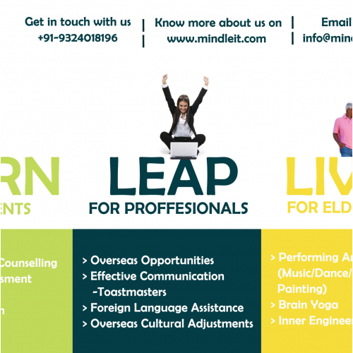 Banner for a Consultancy firm