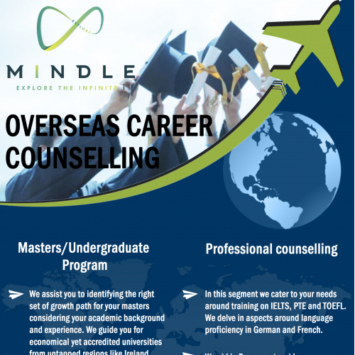 Flyer for career counselling