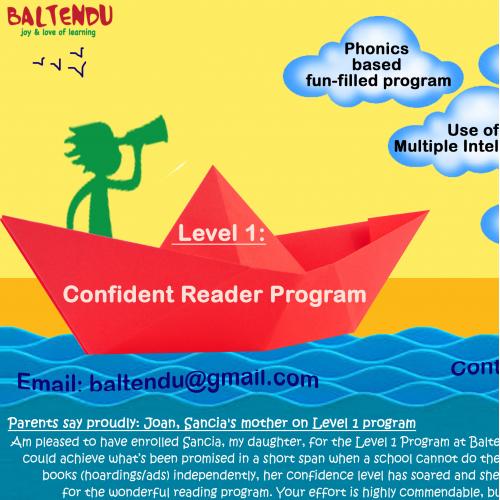 Poster for reading program