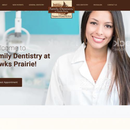 Family Dentistry Web Design