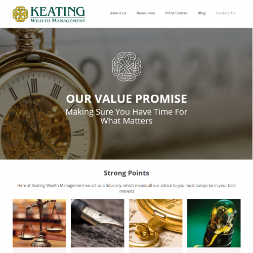 Web Design for traditional law firm
