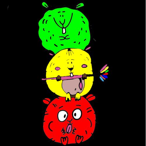 3 Crazy Hamsters