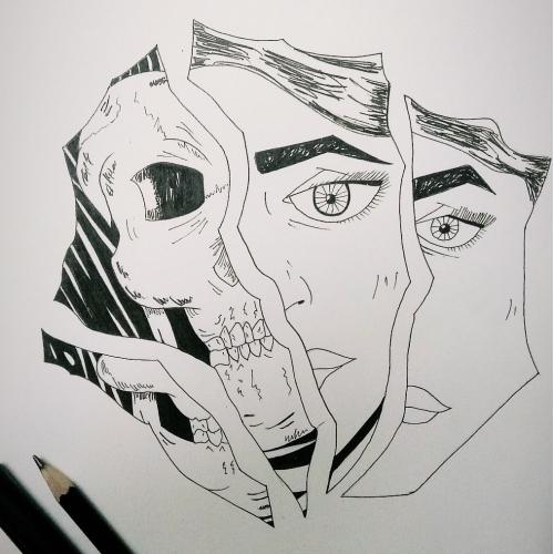 Broken pieces.
