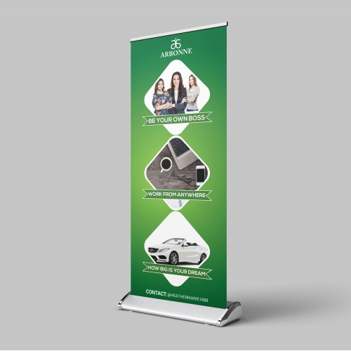 X-Banner Design For USA Client
