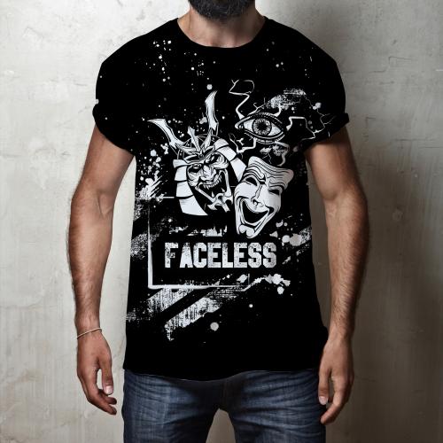 Faceless T-shirt Design