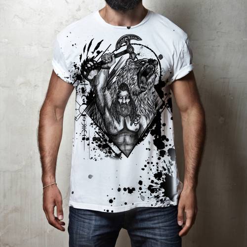 Viking T-shirt Design