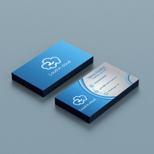 Loud on Cloud Business Card