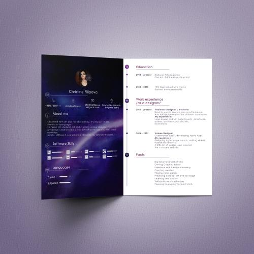 My CV design