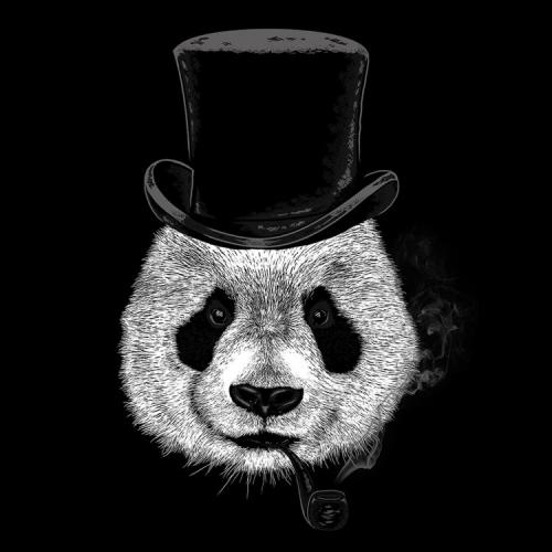 Big Bos Panda Illustration Design