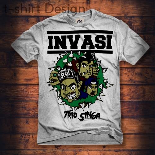 t-shirt design band