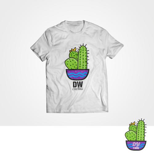 DW Cactus T-shirt Design