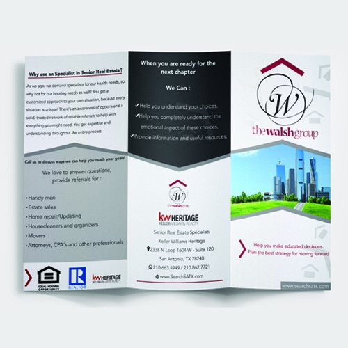 The Walsh Group Brochure Design
