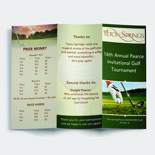 Teton Springs Golf Trournament