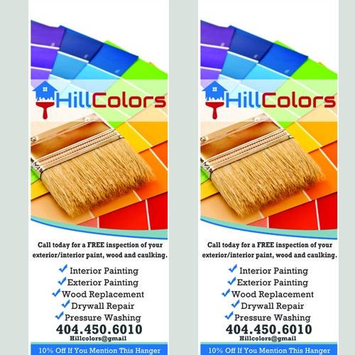 Hill Color Door Hanger