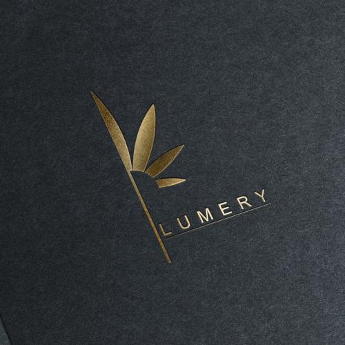 Plumery Logo Design Gold
