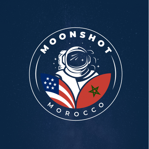 Moonshot logo concept