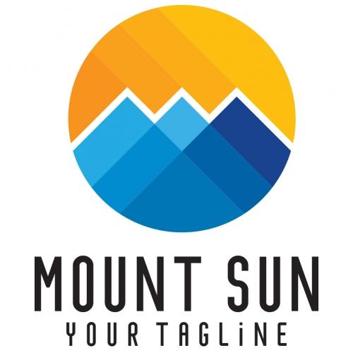 Mount Sun Logo Template