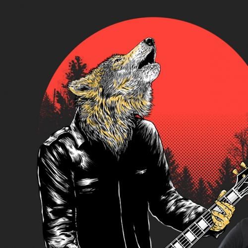 Wolf band