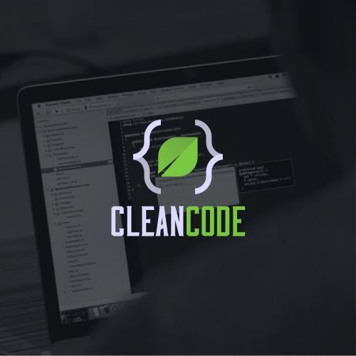 Clean Code Logo Design