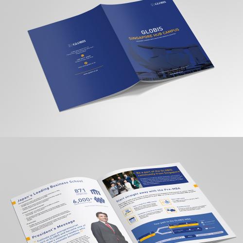 Modern Minimalist Brochure Design