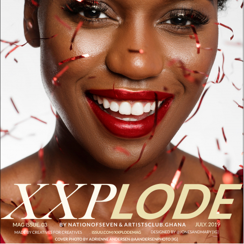 XXPLODE MAG ISSUE.03 COVER