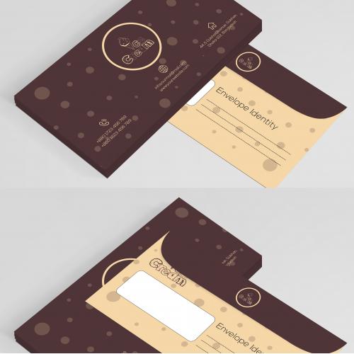 Envelop Template Design