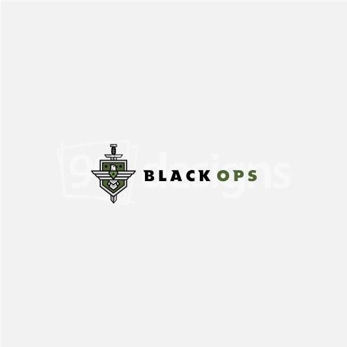 BLACK OPS LOGO DESIGN