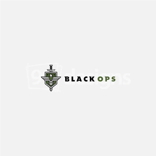 BLACK OPS LOGO DESIGN