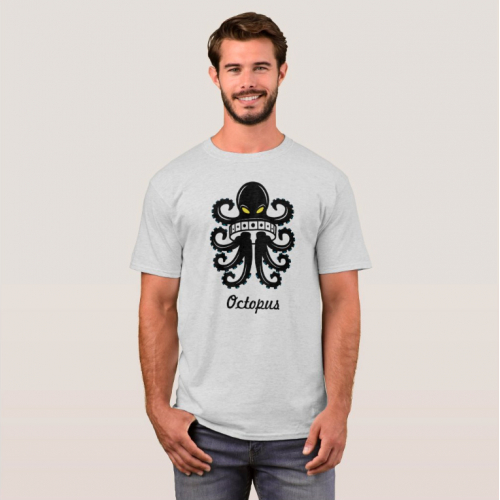 Octopas T-shirt Design
