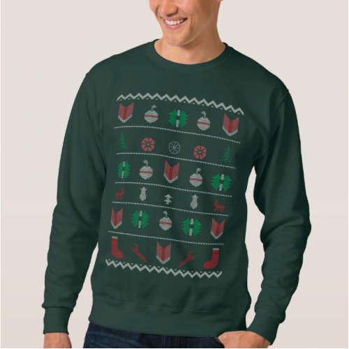 Ugly Christmas T-Shirt Design