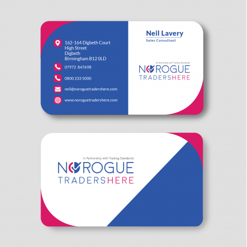 Business Card For Norogue