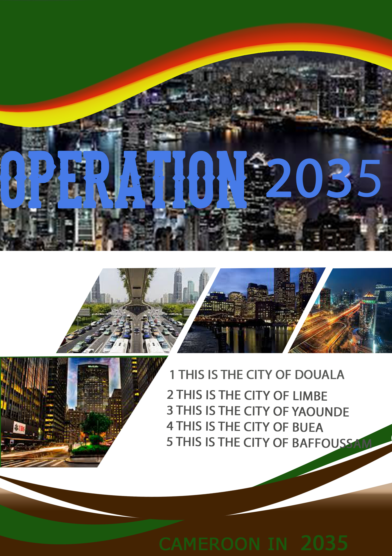 flyer design operation 2035