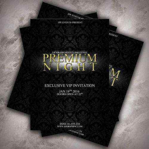 Premium Party Invitation Design
