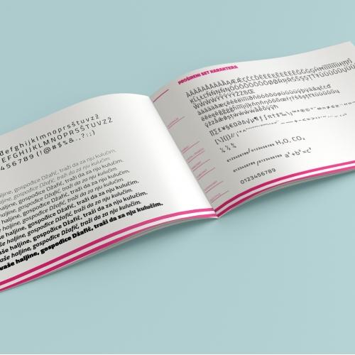 Titillium - Type specimen book